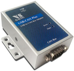 Vscom USB-CAN Plus, a CAN Bus adapter for USB port