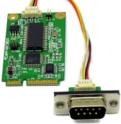 VSCOM - CAN Bus Adapters - Mini PCI Express to CAN Bus