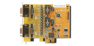 VScom 200Ei-Si PCIex, a 2 Port RS232, RS422/485 PCI Express x1card, 16C950 UART