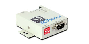 Vscom USB-COMi-M, an USB to RS232/422/485 serial port converter DB9 and terminal block connector