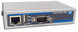 VScom NetCom+ (Plus) 111, a single port Serial Device Server for Ethernet/TCP to RS232